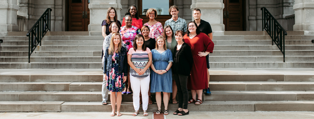 Fall 2019 Photo of Missouri Prevention Science Institute Staff Members